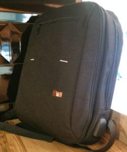 Компактный тонкий стильный универсальный рюкзак